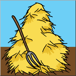 graphic library library Hay clipart. Clip art color i.