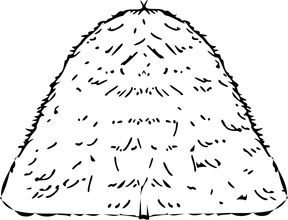 clipart royalty free download Haystack free on dumielauxepices. Hay clipart black and white