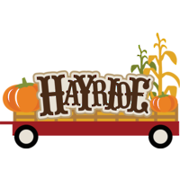 black and white library Free cliparts download clip. Hayride clipart