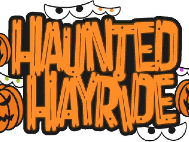 clip art library library Haunted house free on. Hayride clipart.