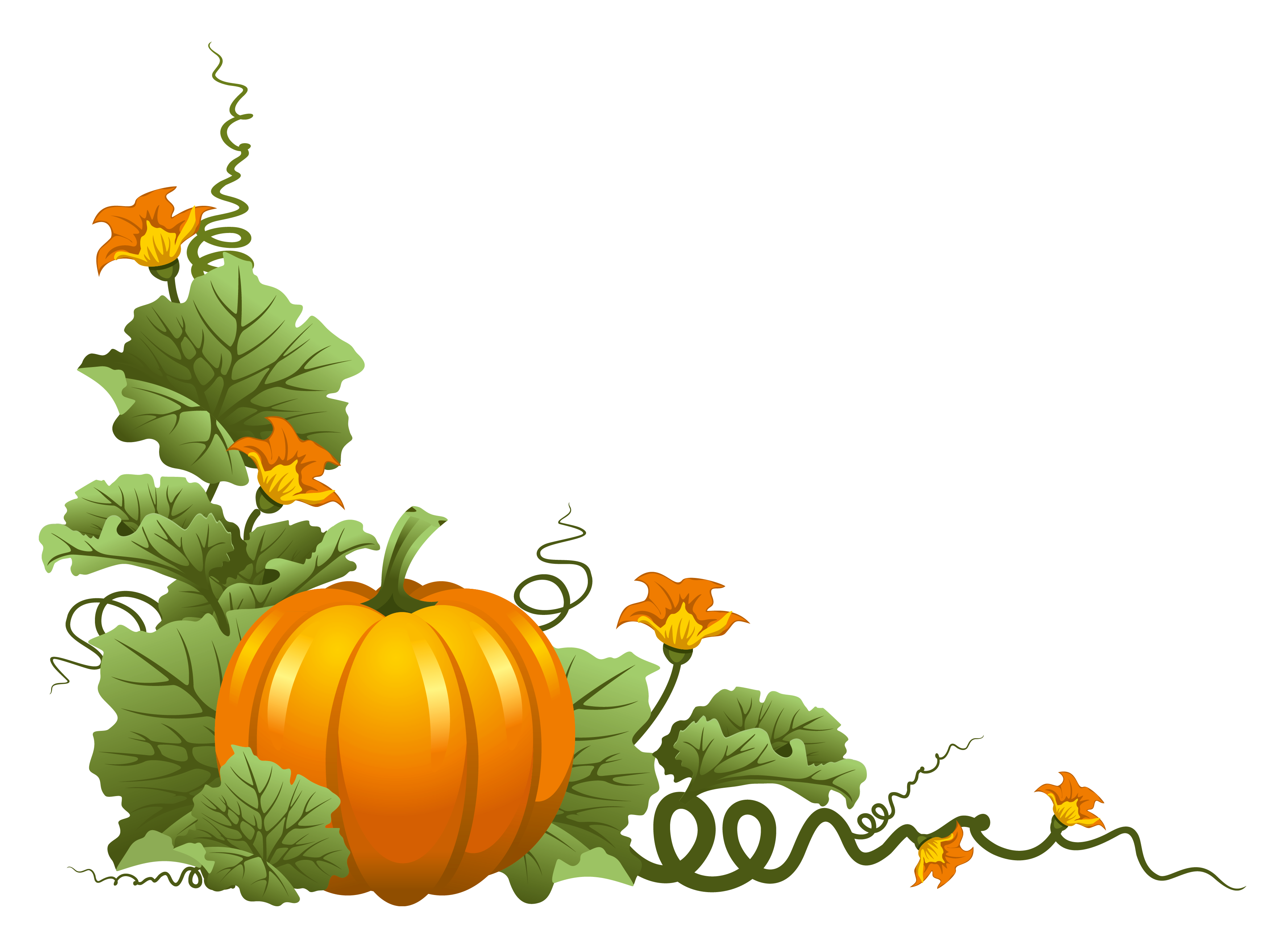 graphic royalty free library Pumpkin decor png sz. Patriotic clipart thanksgiving