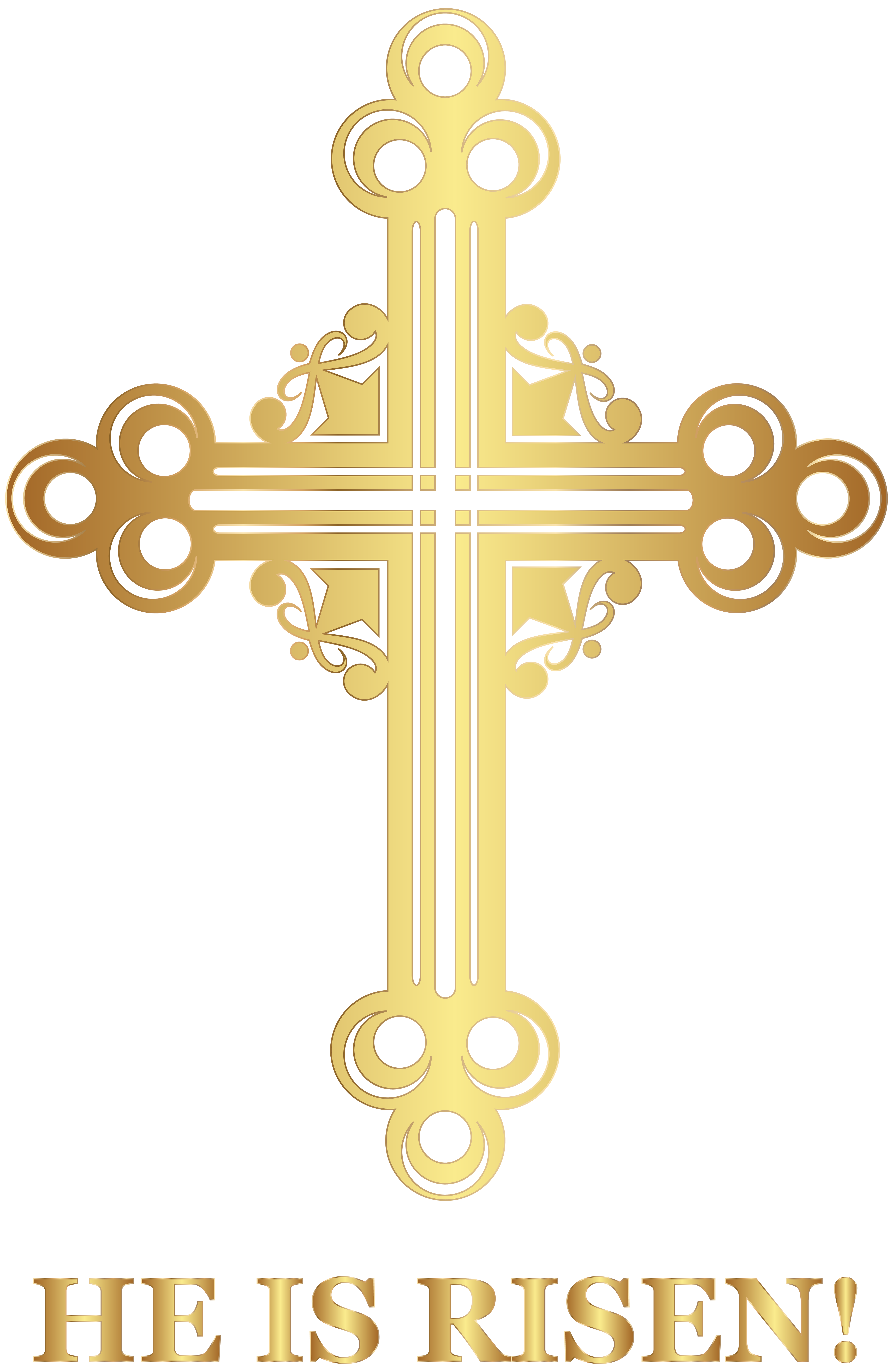 vector library stock Easter cross png clip. He is risen clipart