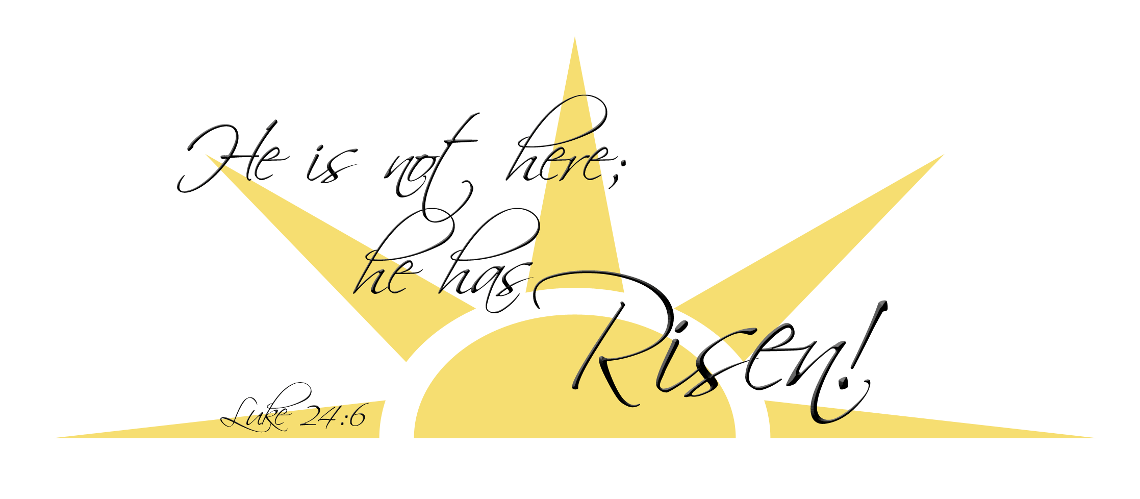 picture transparent library He is risen clipart. Cilpart peaceful design ideas