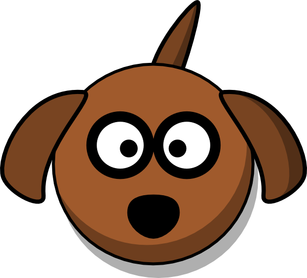 clipart royalty free Dog Head Clip Art at Clker
