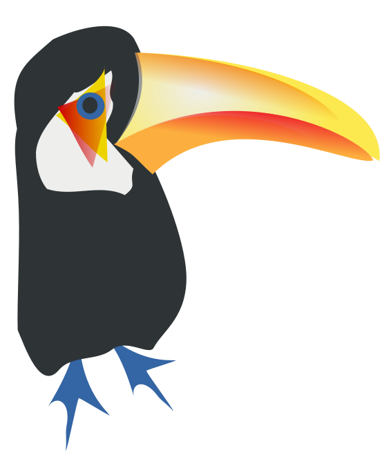image royalty free library Zoo free on dumielauxepices. Toucan clipart bill