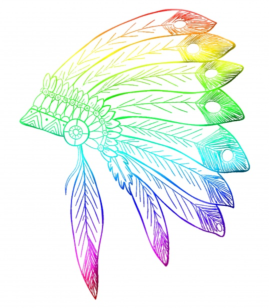banner library download Feathers free stock photo. Headdress clipart.