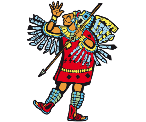 clipart library library Aztec emperor free on. Headdress clipart mayan