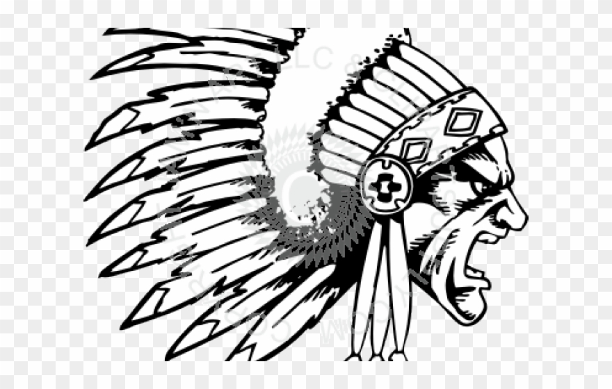 image freeuse Headdress clipart mi kmaq. Chief state drawing of