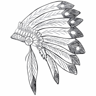 picture stock Png illustration free . Headdress clipart mi kmaq
