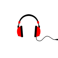 graphic library stock Download free png photo. Headphones clipart.