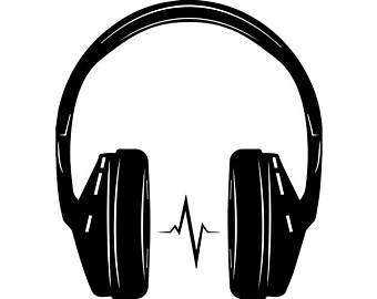 graphic freeuse stock Headphones clipart. Transparent free for download