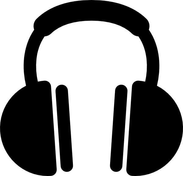 picture library stock Headphones clipart. Clip art at clker.