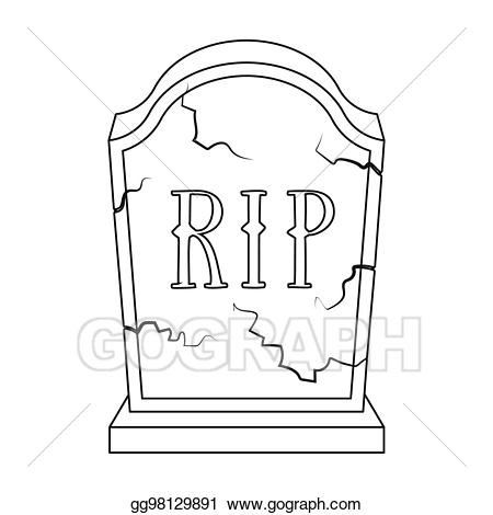 clip library download Headstone clipart funeral. Drawings icon in outline