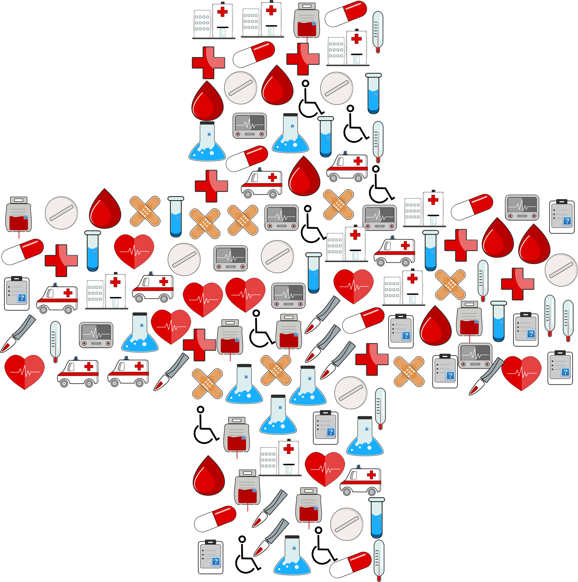 vector transparent library Medicine cross free on. Healthcare clipart.