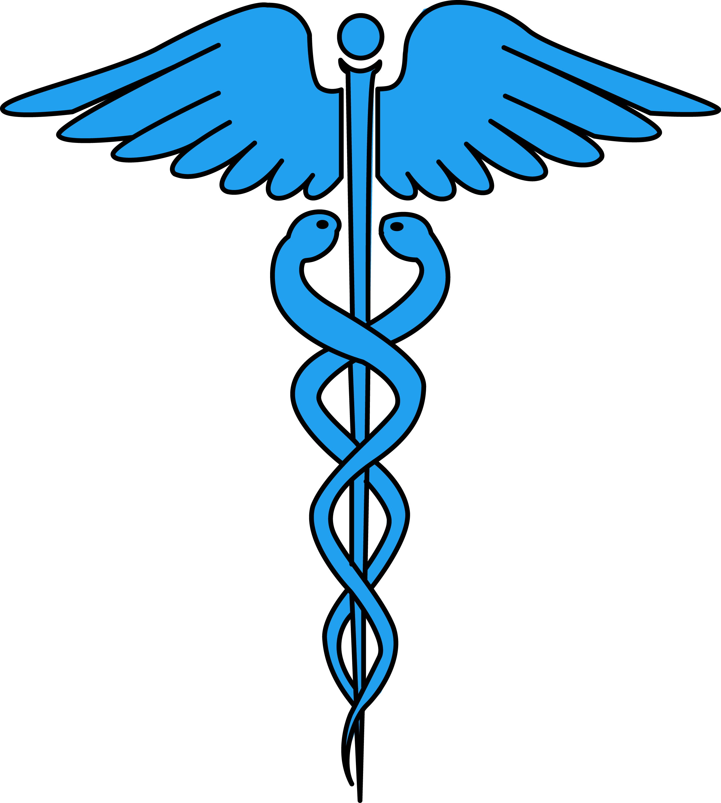 clip royalty free Image for free caduceus. Vector defintion medical