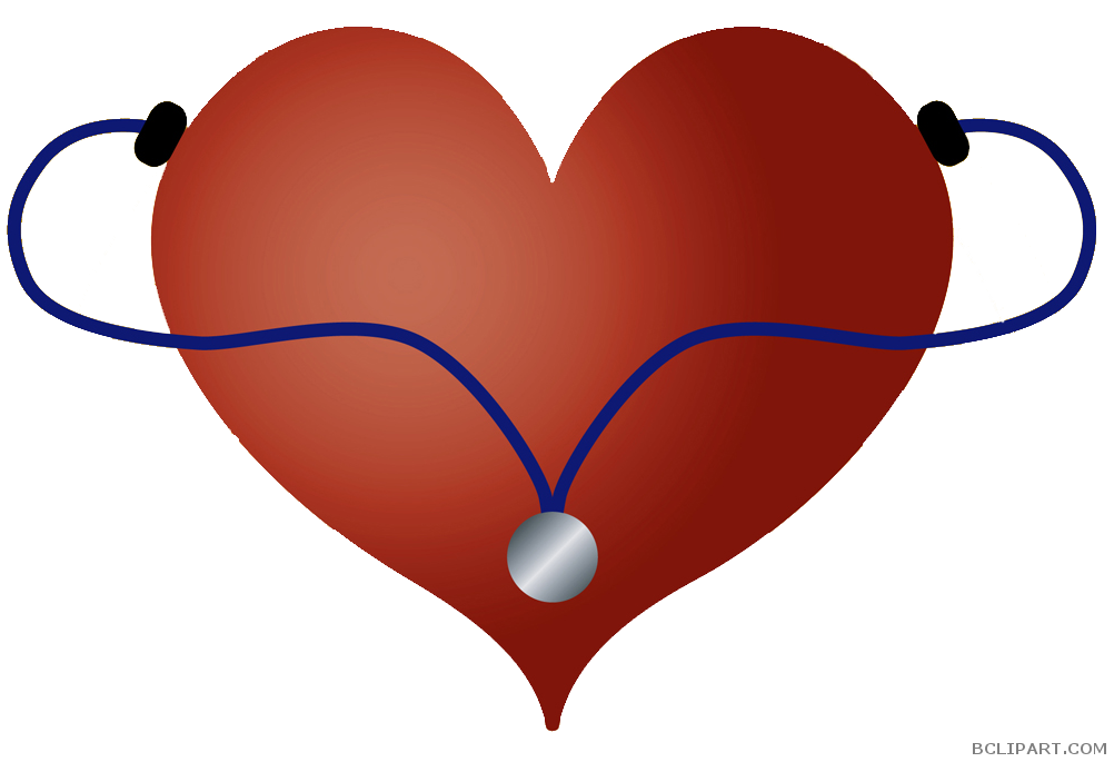 clip freeuse Heart stethoscope clipart transparent library