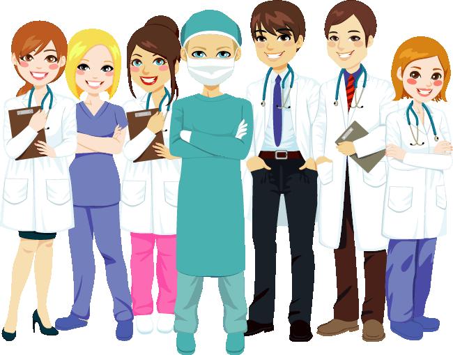 vector stock Healthcare clipart female social worker