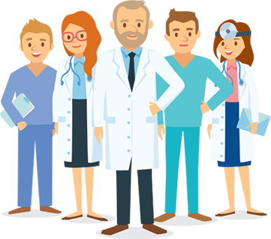 transparent stock Healthcare clipart clinical staff