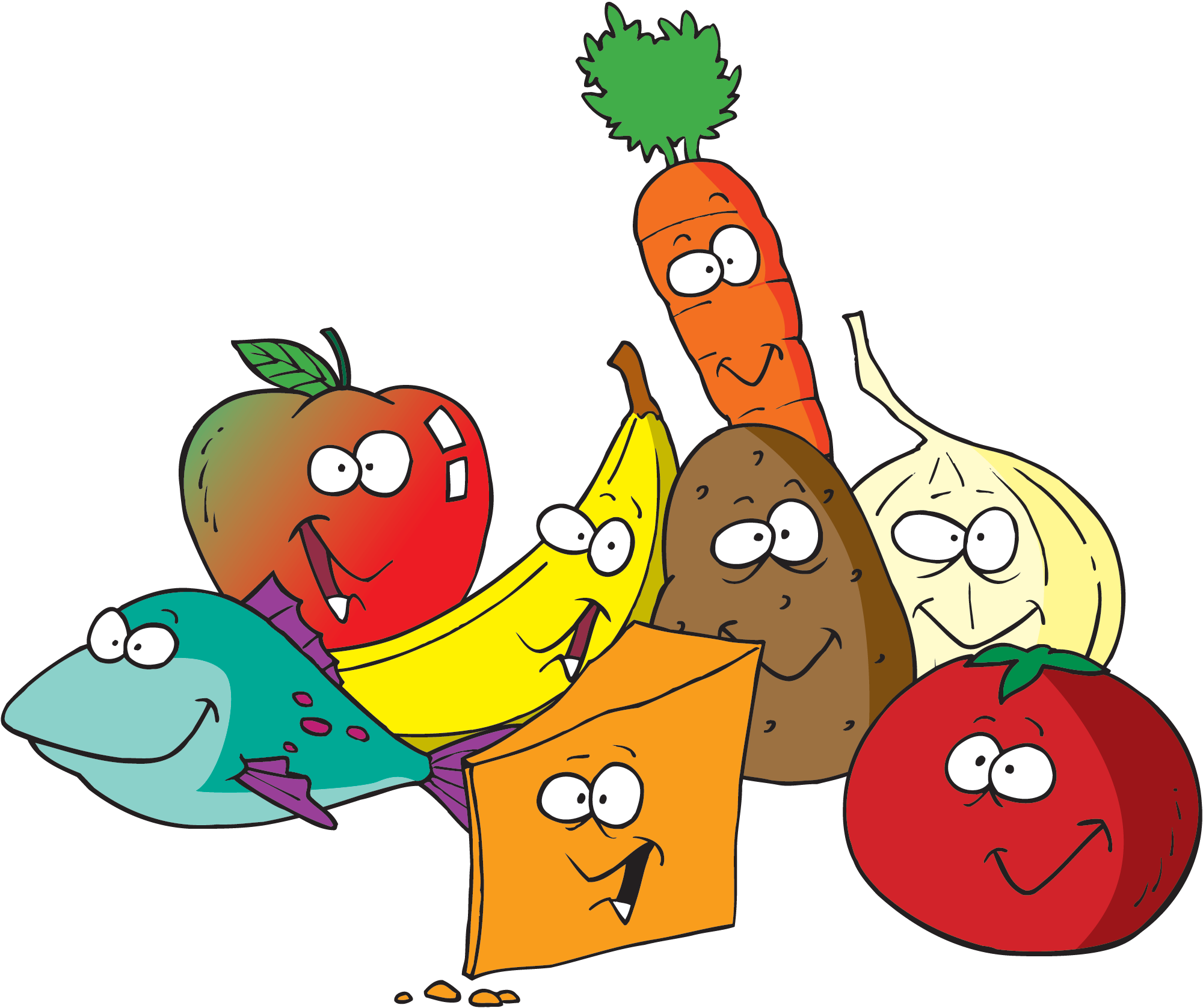 vector library stock Food great image by. Healthy clipart.