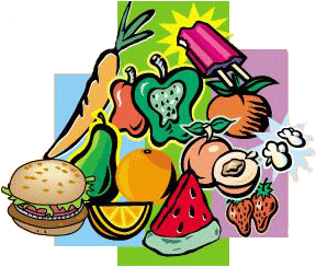 svg black and white stock Healthy Diets for Kids