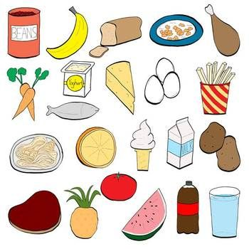 clip free download Healthy foods for kids clipart. Classroom chit chat food.