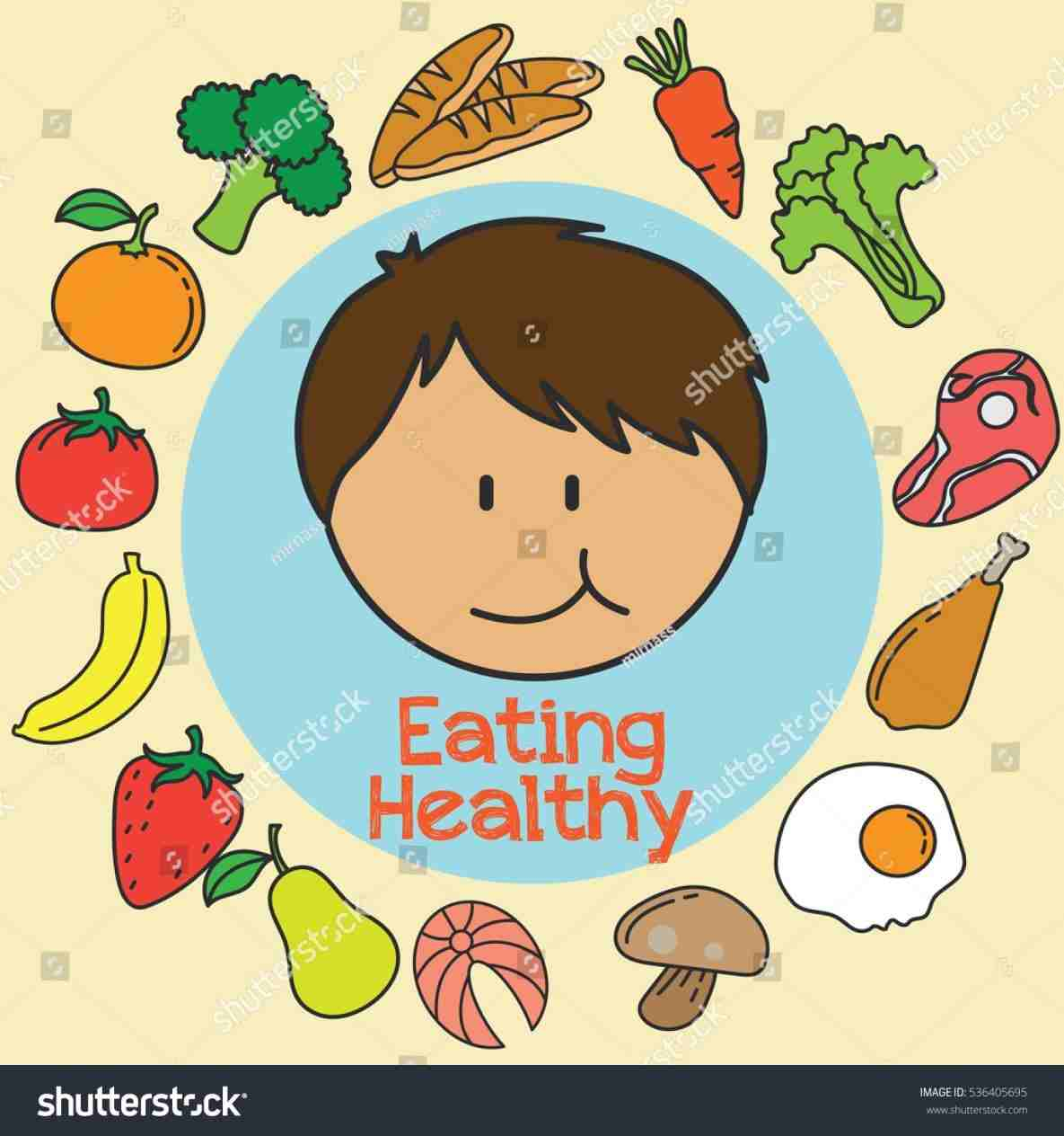 graphic free download Children rhyoutubecom nutrition eating. Healthy foods for kids clipart.