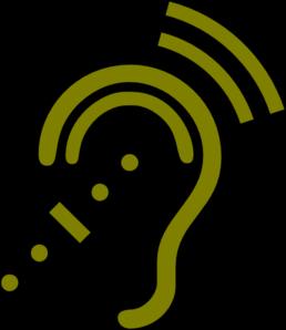 clip art freeuse Hearing clipart. Assistive technology clip art.