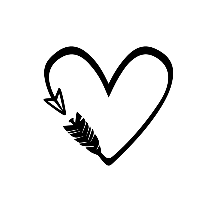 png freeuse Love graphics svg dxf. Heart and arrow clipart.