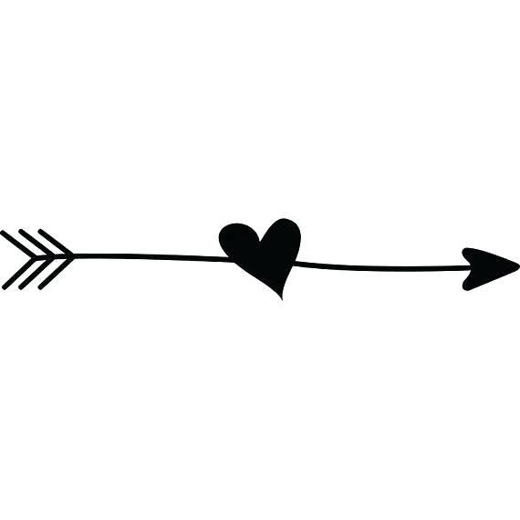 image royalty free stock Arrows with hearts clipart. Arrow heart clip art.