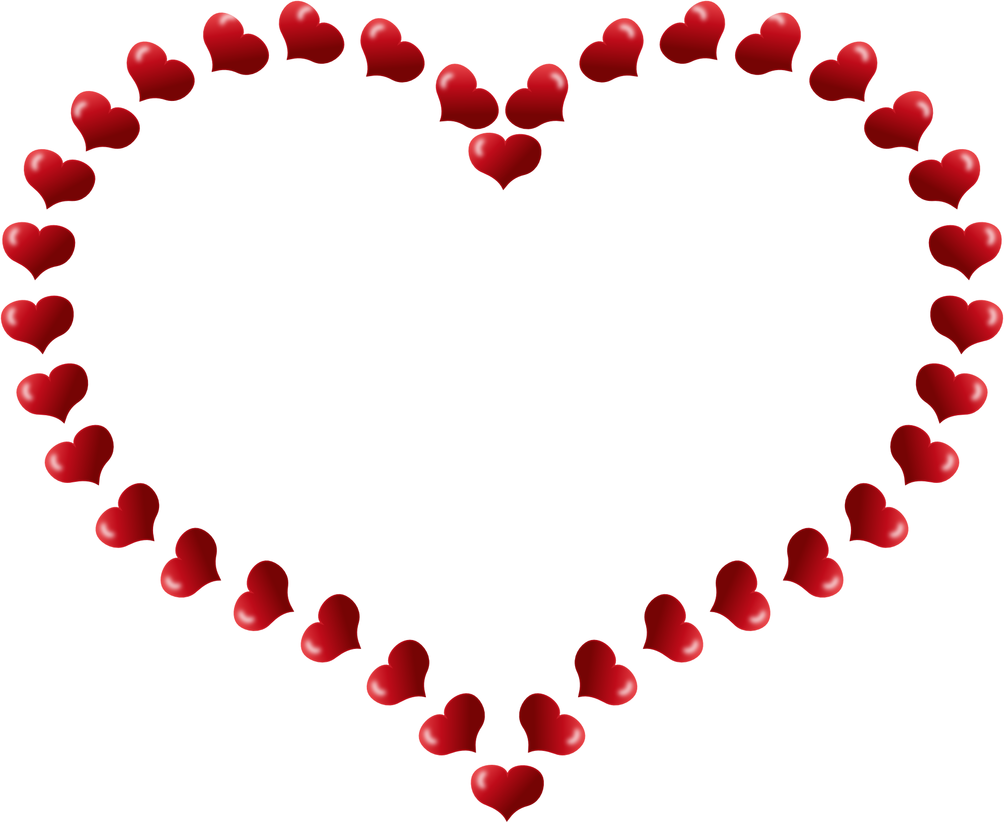 clip art free library Valentine borders clipart. Heart border clip art