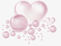 clip library download Heart bubbles clipart. Transparent free for