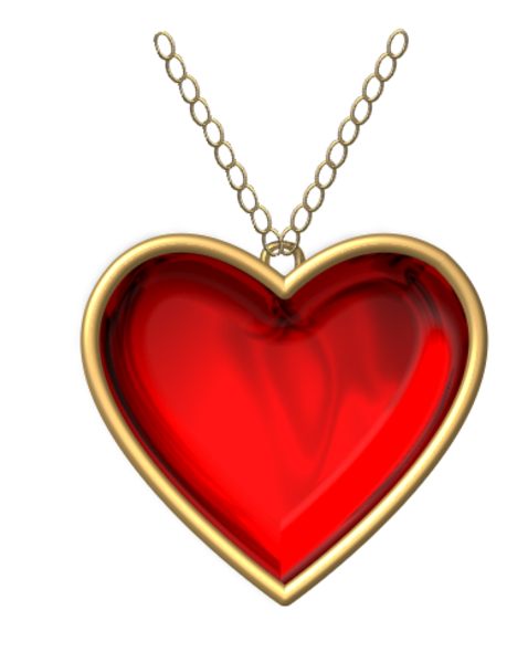 royalty free download Heart Necklace