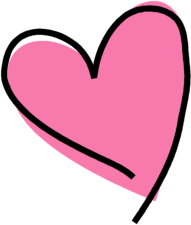 clipart free library Clip art images funky. Cute pink heart