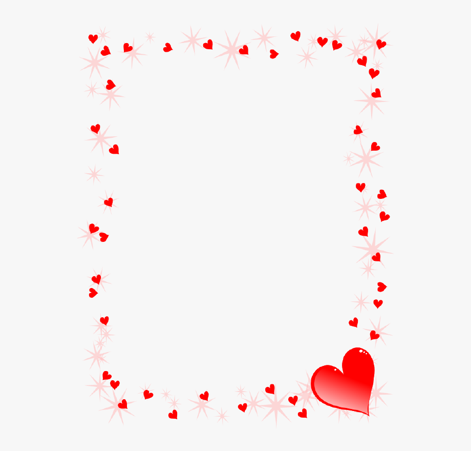 png black and white stock Clipart hearts borders. February border heart