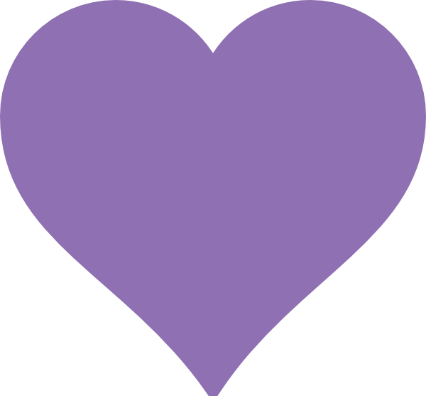 image royalty free download Purple Heart Clip Art at Clker
