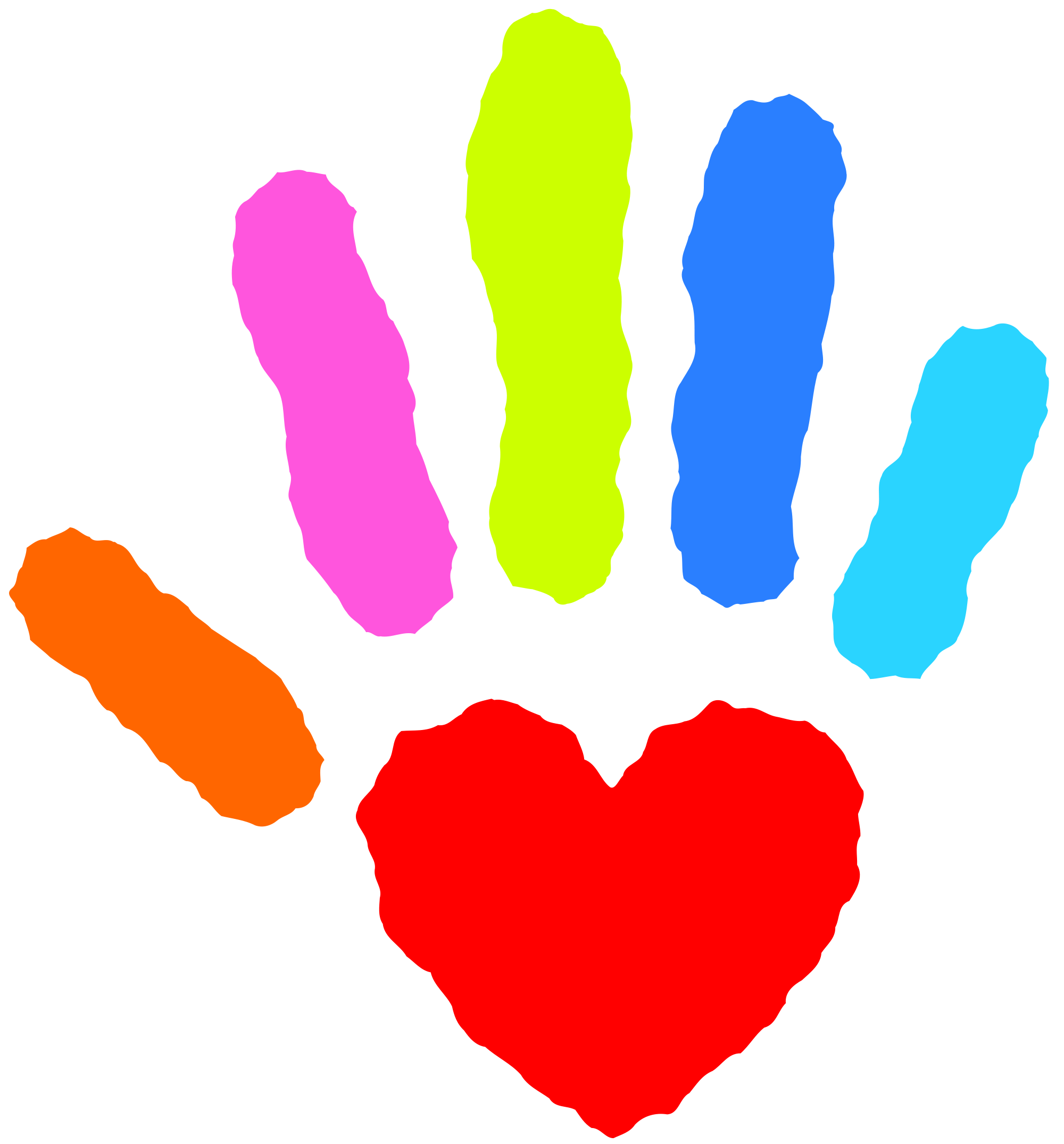 freeuse heart hands clipart #64515580