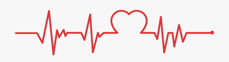 jpg royalty free stock Clip art line png. Heartbeat clipart
