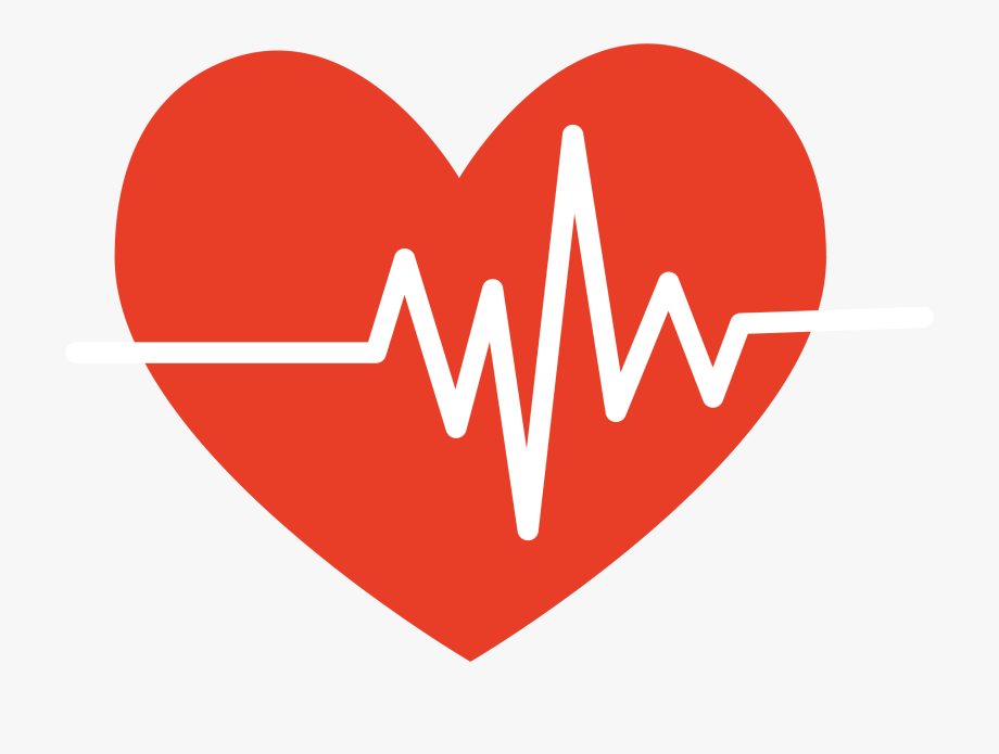 clip art stock Png red heart rate. Heartbeat clipart.