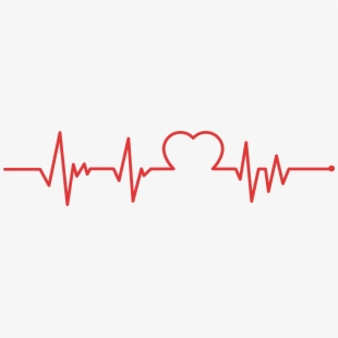 jpg royalty free stock Heartbeat clipart. Clip art line png