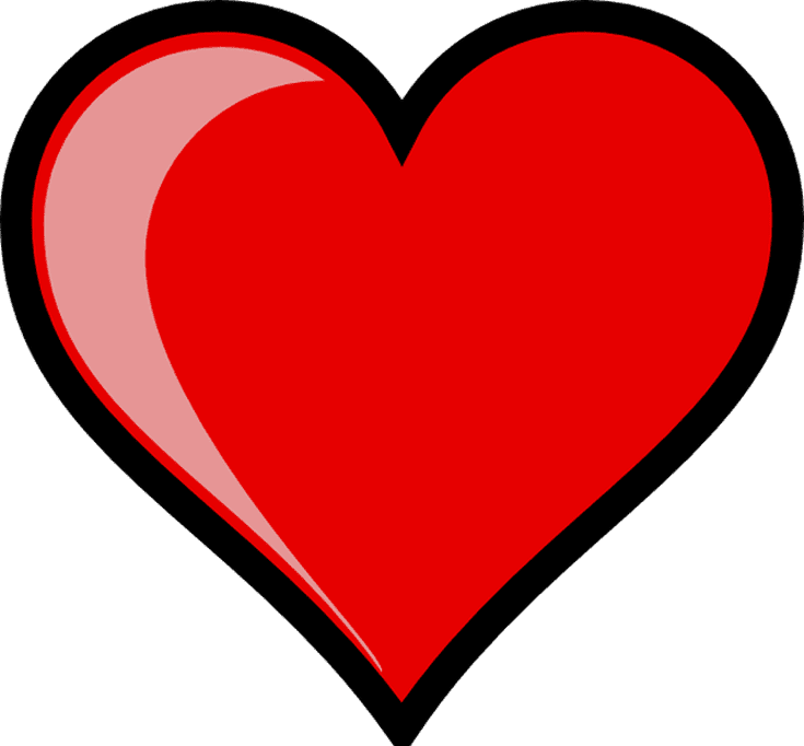 graphic library Heartbeat clipart.  free heart clip.