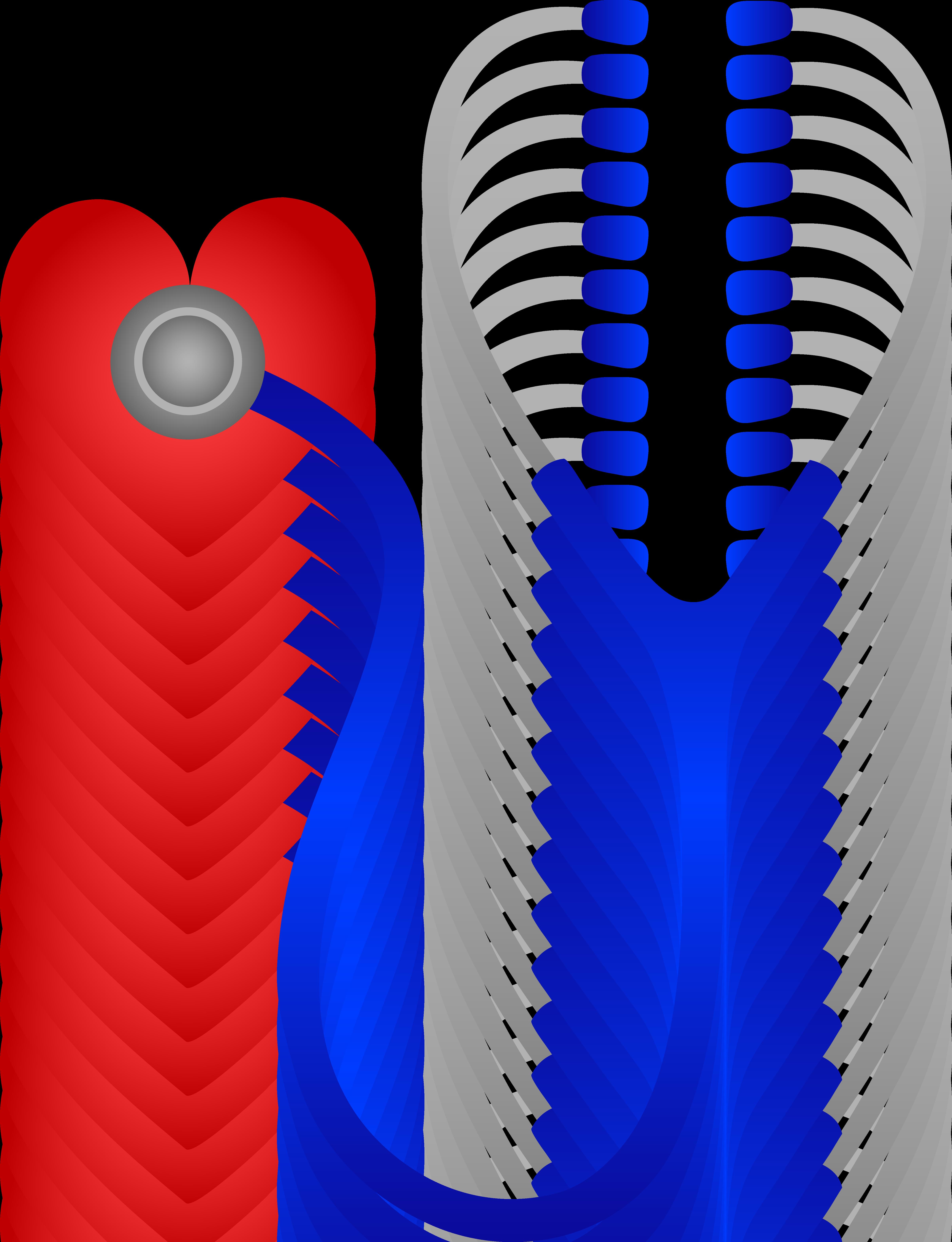 royalty free stock Listening to heart beat. Vector cartoons stethoscope