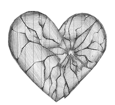 clipart royalty free broken drawing hearted #90940915