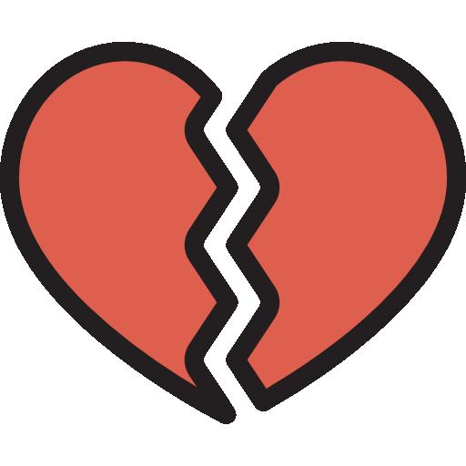 picture transparent stock Broken heart icon . Heartbroken drawing heartache