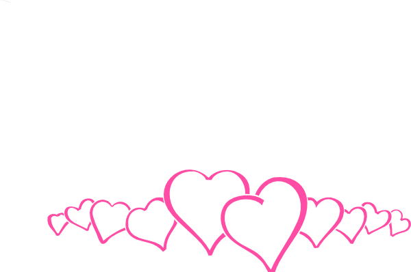 png free stock Pink heart . Hearts border clipart
