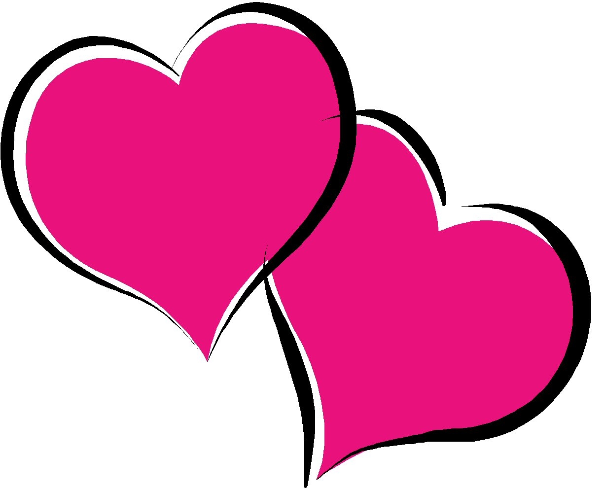banner library Heart free download clip. Hearts clipart