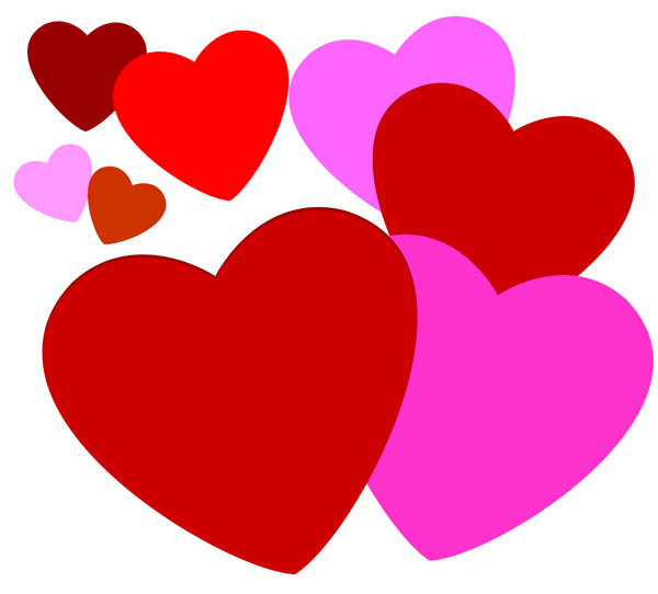 png free Free heart images download. Hearts clip.