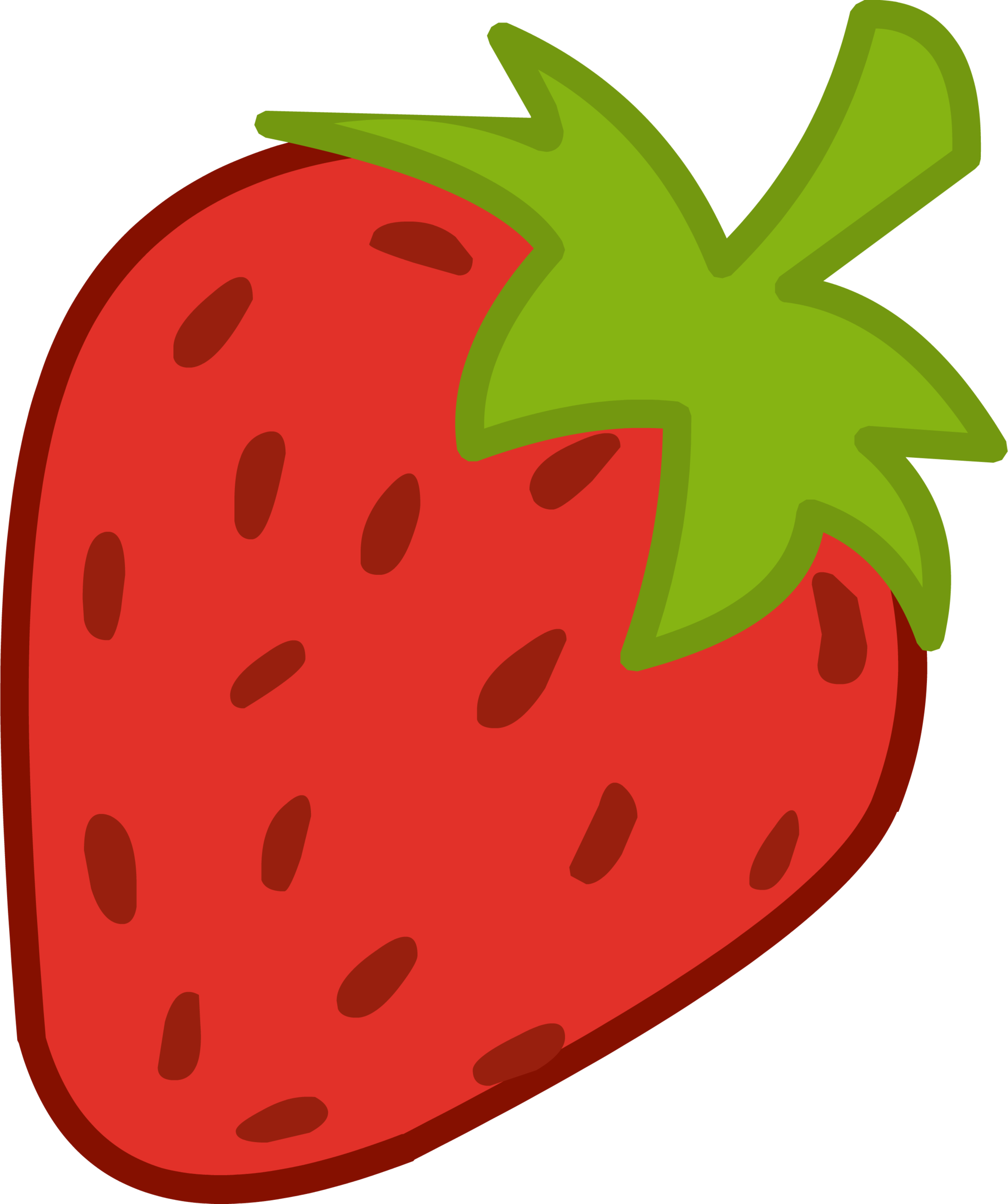 banner download transparent strawberry animated #106724365