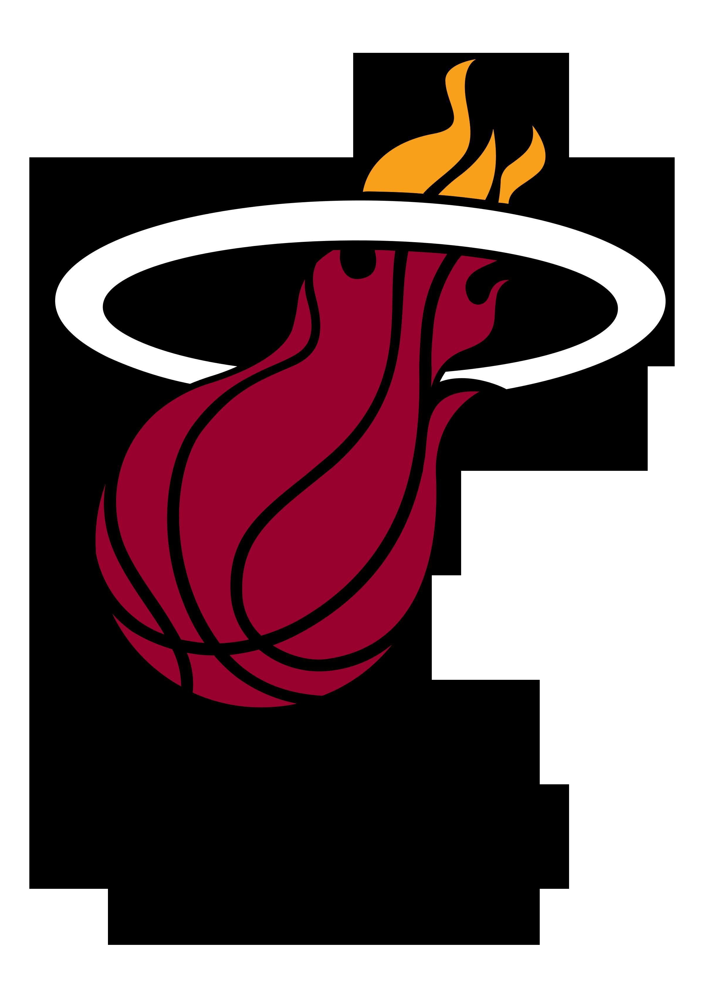 png library Heat drawing. Miami logo at getdrawings.