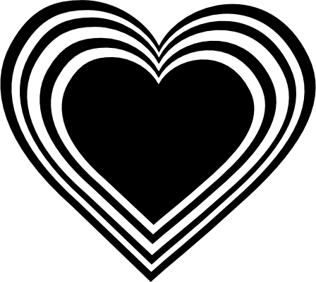 png library Football heart clipart black and white. Hearts clip art necklace
