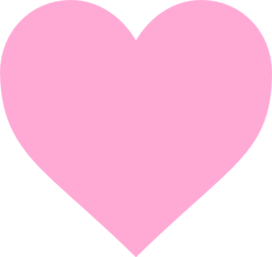 png transparent library Simple Pink Heart Clip Art at Clker